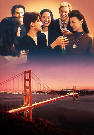 웨인 왕 감독의 영화 <조이 럭 클럽>(1994) 포스터