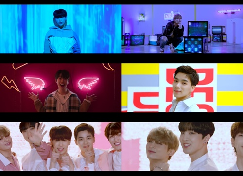 일급비밀 컴백 사진=일급비밀 'WAKE UP' 뮤직비디오 티저 캡처