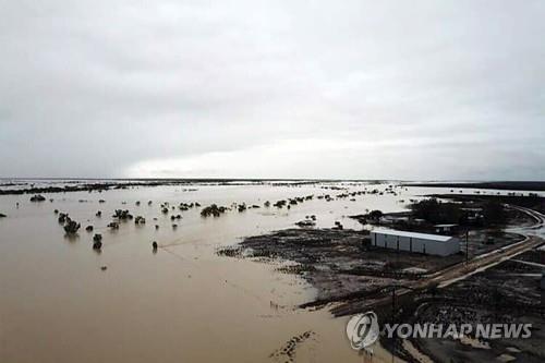 호주 북동부 홍수 [AFP=연합뉴스]