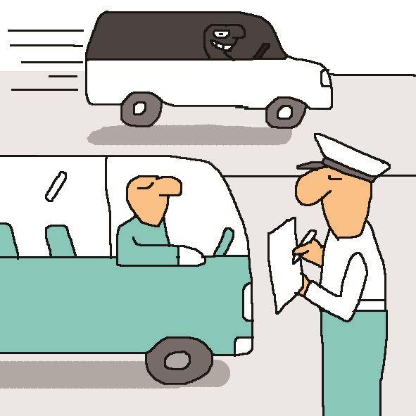 [저작권 한국일보] 명절 버스 차로 단속 그래픽=박구원 기자