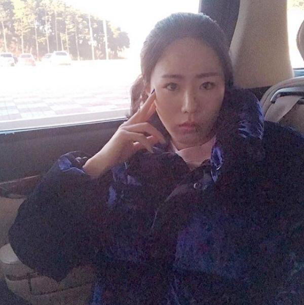 """""""난 나야""""..이상화, '집사부일체' 출연 소감+'시크美' 셀카 공개"""