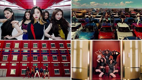 '데뷔 D-1' ITZY, 타이틀곡 '달라달라' MV 선공개