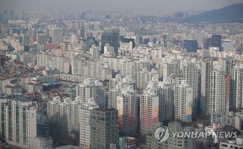 서울 아파트 전경 [연합뉴스 자료사진]