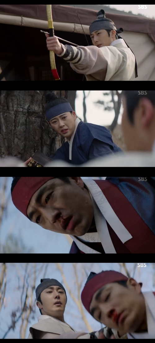 '해치' 정일우, 고아라 위기서 구했다..정문성과 몸싸움
