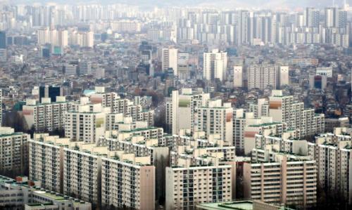 10일 서울 시내 아파트. 뉴시스