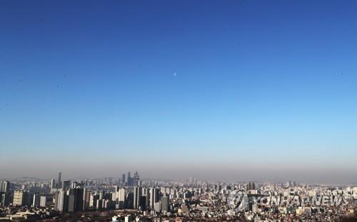 서울 도심 [연합뉴스 자료사진]