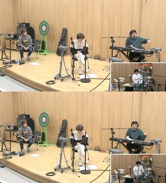 밴드 딕펑스 /사진=SBS 파워FM '아름다운 이 아침 김창완입니다' 보는 라디오 캡처