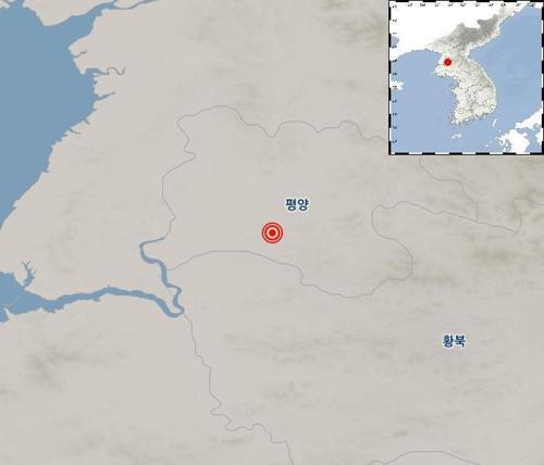 """북한 평양 남동쪽서 2.7 지진..기상청 """"자연지진""""[탑? 토토 피닉스 토토]"""