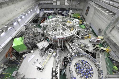 한국 인공태양 'KSTAR' 모습 [국가핵융합연구소 제공]