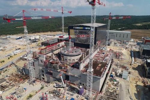 프랑스에 건설중인 국제핵융합실험로(ITER) [국가핵융합연구소 제공]