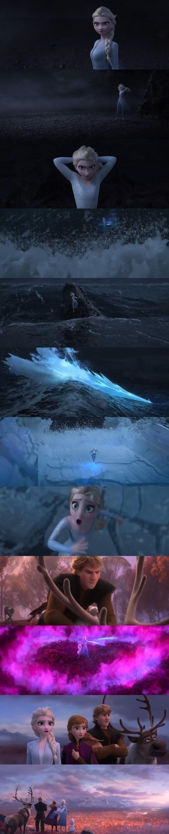 '겨울왕국2' 티저 공개..엘사에게 무슨 일이?