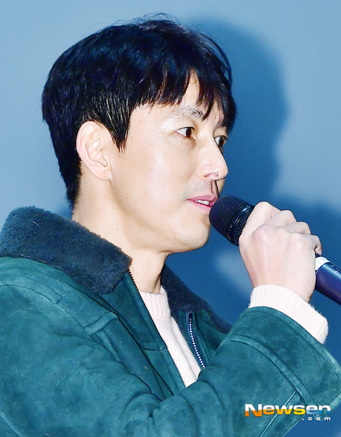 <p>Actor Jung Woo-sung, now 2 17, Afternoon Seoul interests like Yongsan District CGV Yongsan I Park Mall opened in the film witness opening the first stage attended.</p><p>This day, Jung Woo-sung this greeting.</p>