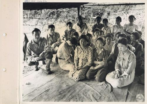 버마(현 미�마) 미치나의 위안� 사진(1944년 8월 14일 촬영) [출처 서울시·서울� 정진성 연구�]