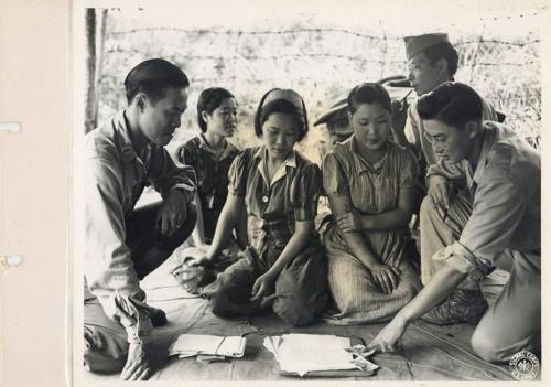 버마(현 미얀마) 미치나의 위안부 사진(1944년 8월 14일 촬영) [출처 서울시·서울대 정진성 연구팀]