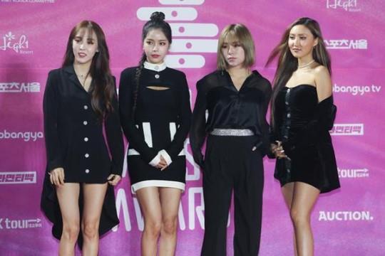 마마무. 한국일보 자료사진