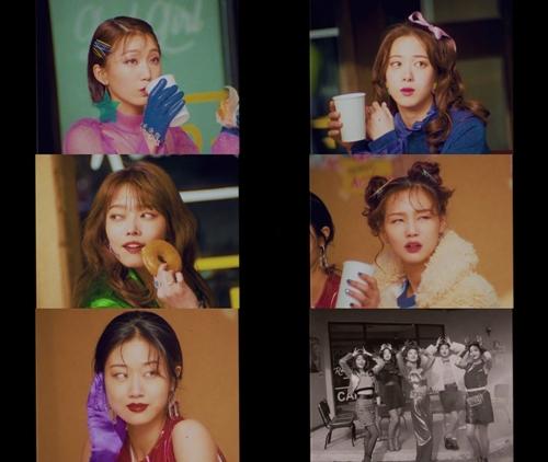 사진 =핑크레이디 'GOD GIRL' 뮤직비디오 티저 캡처