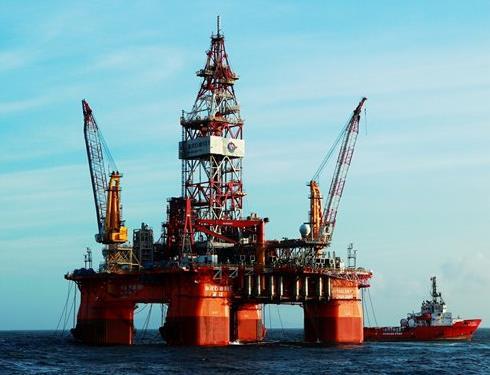 중국의 석유시추장비 [글로벌타임스 캡처]