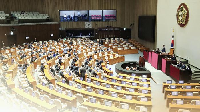 """""""패스트트랙 vs 독재국가 시도""""..선거제 개혁 혈투"""