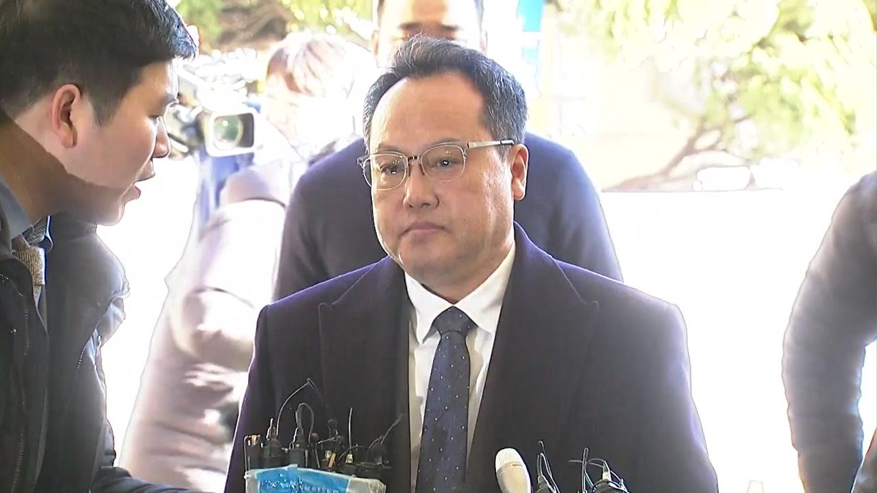 '직원 폭행' 송명빈, 영장심사 앞두고 추락사