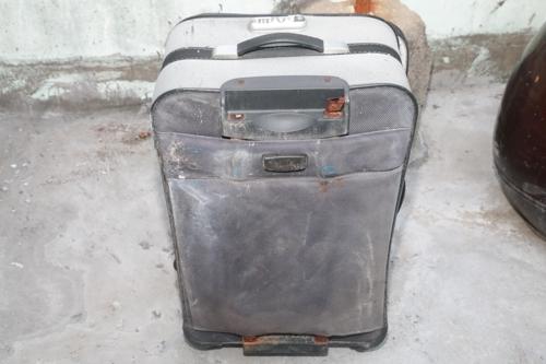시신 은닉에 쓰인 여행용 가방 [부산지방경찰청]