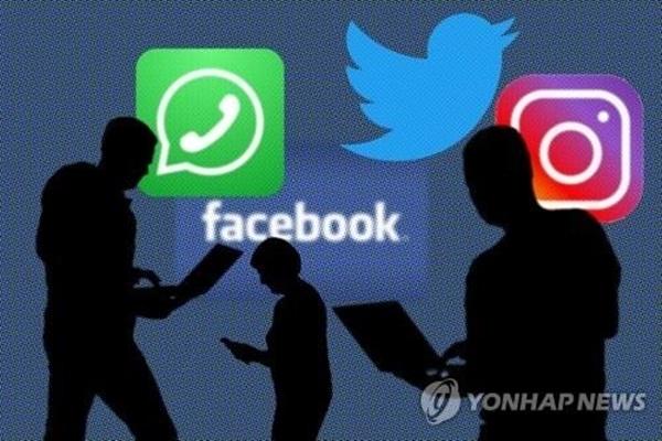 인스타그램·페이스북 오류, 전세계적으로 일시 불통