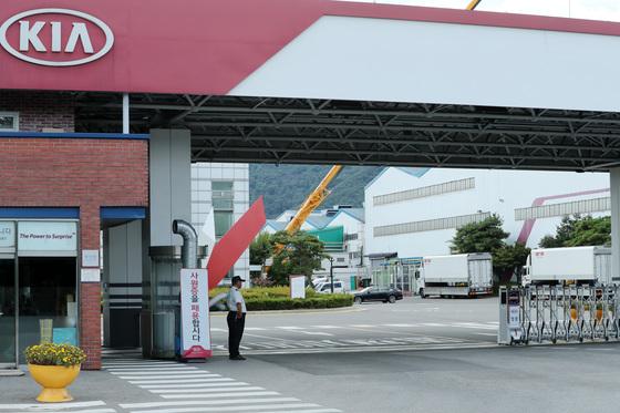 지난해 7월30일 오후 경기 광명시 소하동 기아자동차 소하리공장 모습. /사진=뉴스1