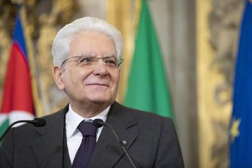 세르지오 마타렐라 이탈리아 대통령 [ANSA통신]