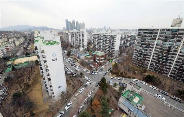 서울 개포동 아파트 단지 전경(자료 한경DB)