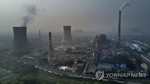 중국의 석탄화력발전소 [게티이미지 제공]