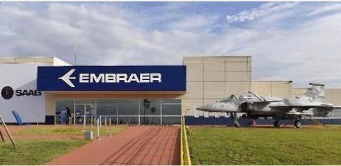엠브라에르와 사브가 공동운영하는 '그리펜 개발 프로젝트 센터' [브라질 일간지 폴랴 지 상파울루]