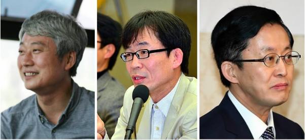 왼쪽부터 김근식, 조한범, 전성훈/연합뉴스 등
