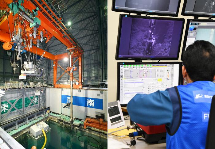 일, 후쿠시마 '멜트다운' 원자로서 핵연료 반출 첫 시작[1945 토토 클린턴 토토]