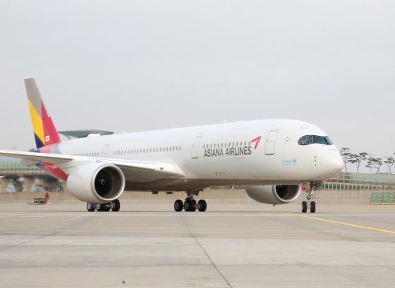 아시아나항공 항공기./사진제공=아시아나항공