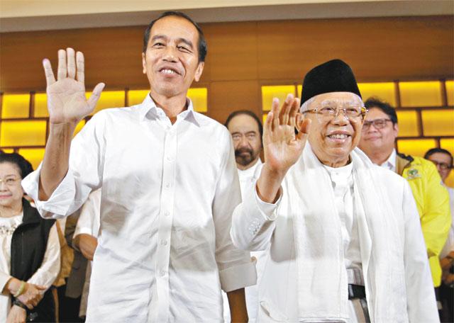 인도네시아판 '오바마 vs 트럼프 대결'.. 조코위, 재선 유력[문카지노 토토|추천백경릴께임]