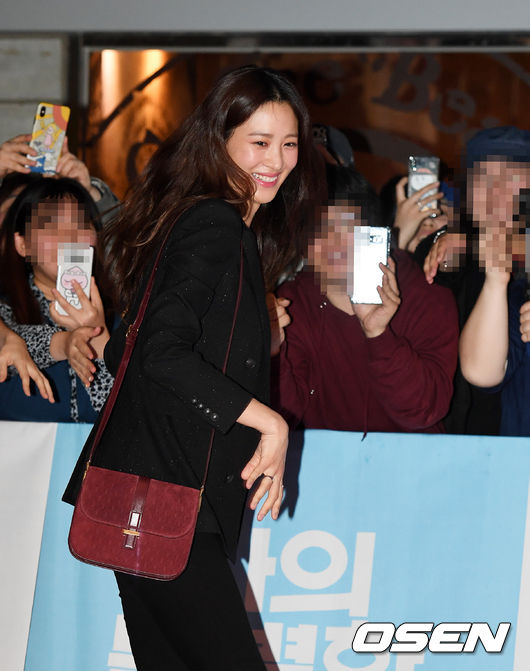 <p> 18th afternoon Seoul Megabox COEX on the movie 'My Special brother' VIP premiere was held.</p><p>Actress Claudia Kim in this photo.</p>