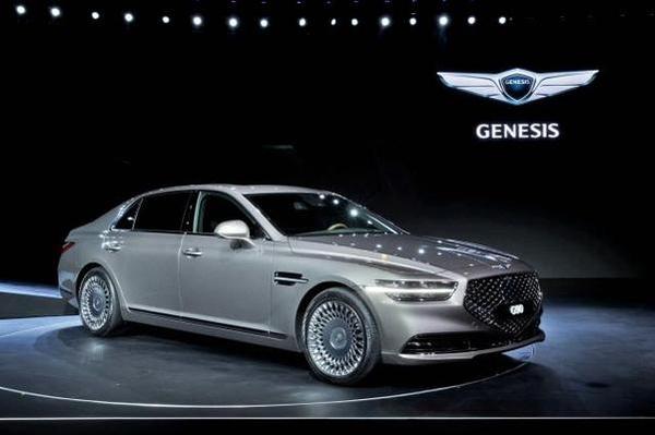 현대차가 제네시스 중국법인 출범을 위한 전담조직인 '제네시스 모터 차이나(GMC)'를 신설했다. 사진은 지난해 11월 출시된 제네시스 G90 부분변경 모델. /현대차 제공