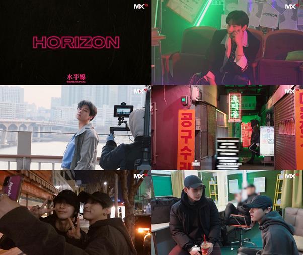 아이엠이 '호라이즌' 비하인드를 영상으로 공개했다. 스타쉽엔터테인먼트 제공