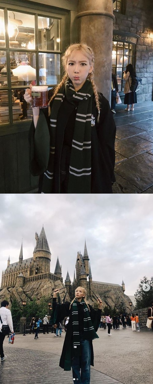 "<p> Group Girls  Generation Taeyeon, this wizard the.</p><p>Taeyeon is the last 25 days - ""come here and try blonde would have""with the photo published.</p><p>The movie 'Harry Potter' series of the magic school Hogwarts student costume is Taeyeon of all our won.</p><p>Taeyeon is also a ""Muggle, I leave of absence was""Eagle and scepter lifted up to reveal the picture.</p><p>Yang get so named after Taeyeons blonde hairstyle with a delightful atmosphere a smile.</p><p>Meanwhile Taeyeon - Japan first solo tour 'TAEYEON JAPAN TOUR 2019 ~Signal~'progress.</p>"