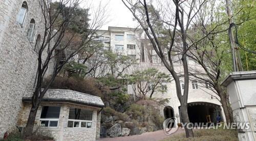 서초동 '트라움하우스 5차' 연립주택 [연합뉴스 자료사진]