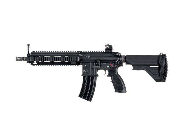 독일 H&K사가 미국 M-4 카빈소총을 기반으로 재설계한 HK 416 소총의 단축형. 차기 기관단총 후보 가운데 가장 많이 보급된데다 신뢰도와 선호도가 높으나 가격이 높은 게 단점으로 꼽힌다.
