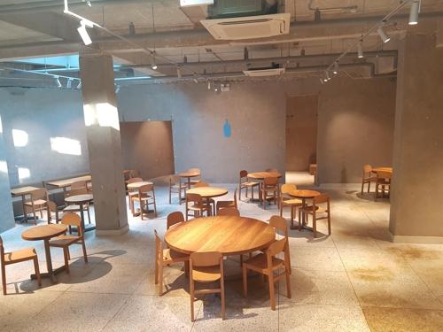 블루보틀 성수점 내부 tsl@yna.co.kr