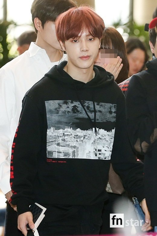 <p>Group The Boyz the 7 p.m. Concert to attend car Gimpo International Airport via Japan into the United States.</p><p>※ Copyright ⓒ</p>