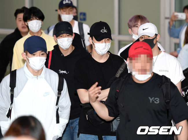 <p> 7 afternoon group Monsta Xs overseas schedule and Gimpo International Airport through the United States.</p><p>Group Monsta Xs Arrival point on.</p>