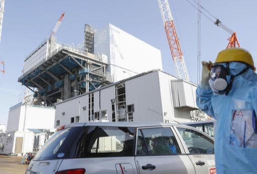 도쿄 전력 후쿠시마 제 1원전 2호기 모습.
