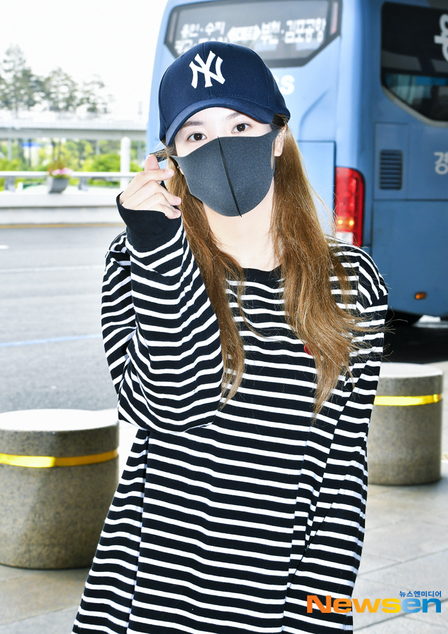 <p>Singer Izone Hitomi Honda is 5 12 am Gimpo International Airport via Japan into the United States.</p><p>This day, Hitomi Honda is Arrival point on.</p>