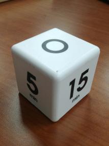 신한은행에서 활용하는 회의시간 알람시계. 출처:신한은행
