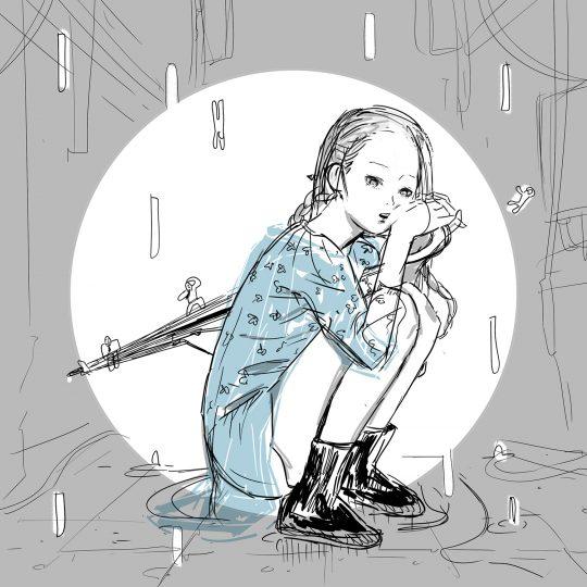 소유·오반, 듀엣곡 '비가 오잖아' 재킷. / 제공=스타쉽엔터테인먼트