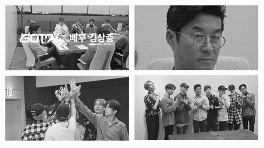GOT7 X 김상중 COMEBACK LIVE TALK 티저 영상 캡처/사진제공=JYP엔터테인먼트