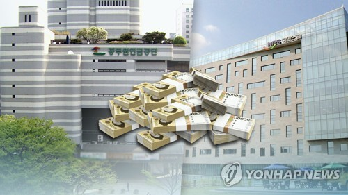 국민연금 204만원 vs 공무원연금 720만원(CG) [연합뉴스TV 제공]