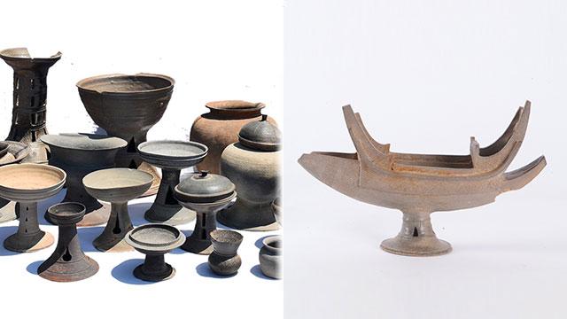 창원 현동 고분군에서 발굴된 토기. [사진 제공:문화재청]